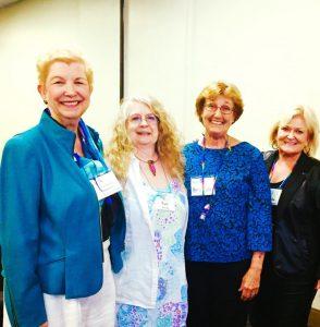 Marina Rivers, Pam Wolfe, Resa Dunn, and Marsha Endahl Kramer