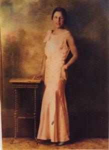 Onie B. Conley Portrait, c. 1920s Color Photograph, Gift Anonymous, Carver Museum